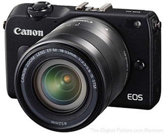 Canon EOS M2 with 18-55mm with EF-S IS STM Lens