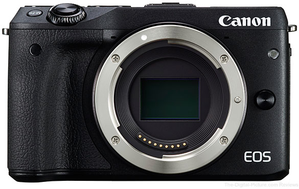 Canon EOS M3 Mirrorless Camera - $554.00