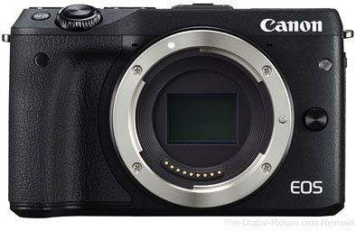 Canon EOS M3 Mirrorless Camera Body