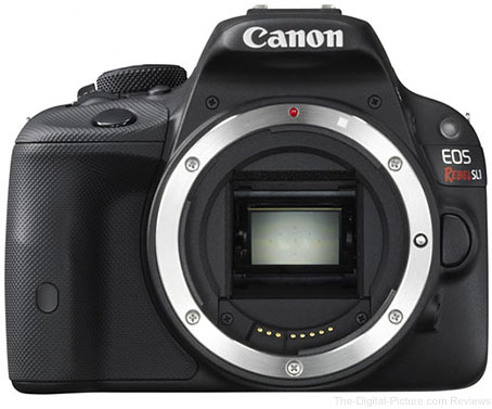 Canon EOS Rebel SL1 with EF 40mm f/2.8 STM Lens Kit Available