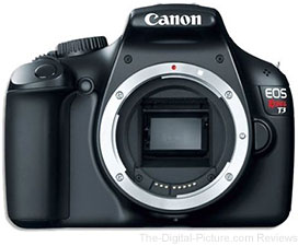 Canon EOS Rebel T3 DSLR Camera - $224.99 Shipped