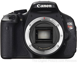 Canon EOS Rebel T3i DSLR Camera - $467.60 Shipped (Compare at $519.00)