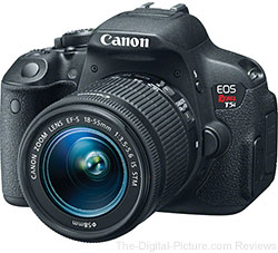 Canon EOS Rebel T5i DSLR Camera with EF-S 18-55mm IS STM Lens - $659.99 Shipped (Compare at $799.00)