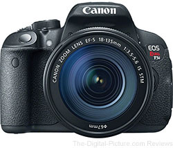 Canon EOS Rebel T5i DSLR with EF-S 18-135mm IS STM Lens