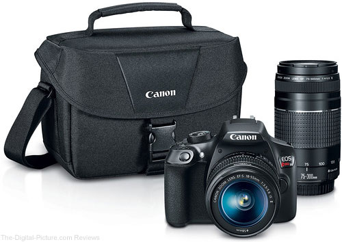 Canon EOS Rebel T6 DSLR Camera with 18-55mm and 75-300mm Lenses - $449.00 Shipped (Reg. $749.00)