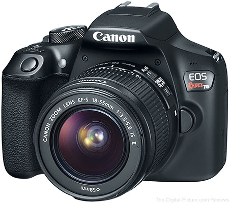 Canon Announces Newest Entry-Level DSLR – Meet the Rebel T6