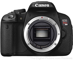 Canon EOS Rebel T4i (650D) Digital SLR Camera - $546.87 Shipped (Compare at $648.00)