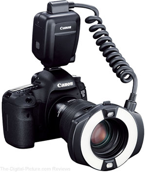 Canon Camera Museum Publishes Macro Ring Lite MR-14EX II Technical Report