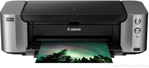 Canon PIXMA PRO-100 Color Inkjet Wireless Photo Printer