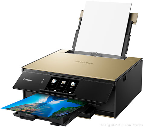 Canon Announces New Line of PIXMA Wireless All-in-One Printers