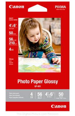 Buy 1, Get 10 Free – Canon Photo Paper Glossy 4x6 (50 Sheets)