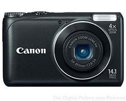 Refurbished Canon PowerShot A2200 Digital Camera Bundle - $45.49 with Free Shipping (Reg. $69.99)