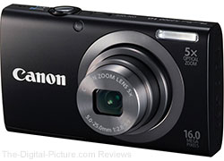 Canon PowerShot A2300 Digital Camera (Black/Silver) - $79.00 Shipped