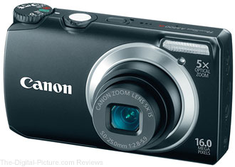 Refurbished Canon PowerShot A3300 Digital Camera - $47.99