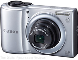 Canon PowerShot A810 Digital Camera (Silver) - $59.99 Shipped (Compare at $86.00)