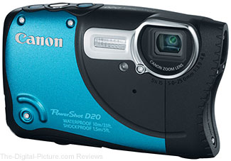 Canon PowerShot D20-Waterproof-Camera