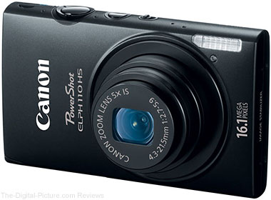 Refurbished Canon PowerShot ELPH 110 HS Digital Camera - $79.99 with Free Shipping (Compare at $249.00 New)