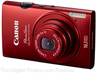 Save 20% Off Select Refurbished Canon Powershot Digital Cameras