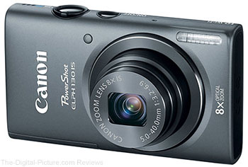 Canon PowerShot ELPH 130 IS Digital Camera (Grey) $109.00 (Compare at $129.00)