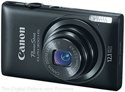 Refurbished Canon PowerShot ELPH 300 HS Digital Camera - $67.97 with Free Shipping