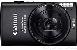Canon PowerShot ELPH 330 HS Digital Camera
