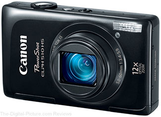 Refurbished Canon PowerShot ELPH 510 HS Digital Camera
