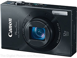 Canon PowerShot ELPH 520 HS Digital Camera - $129.99 Shipped (Compare at $139.00)