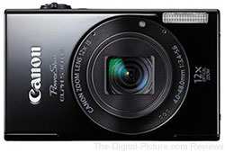 Canon PowerShot ELPH 530 HS (Black) - $148.50 with Free Shipping (Compare at $181.20)