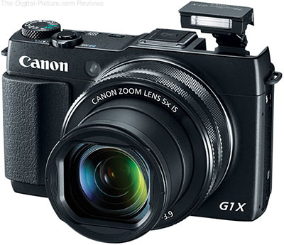 Refurb. Canon PowerShot G1 X Mark II Camera - $499.99 (Compare at $699.00 New)