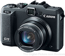 Canon PowerShot G15 Digital Camera - $299.00 Shipped (Compare at $349.00)