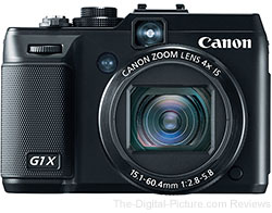 Canon PowerShot G1 X Digital Camera - $529.00 (Compare at $599.00)