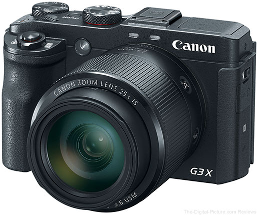Canon PowerShot G3 X In Stock at B&H