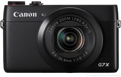 Canon PowerShot G7 X In Stock at B&H