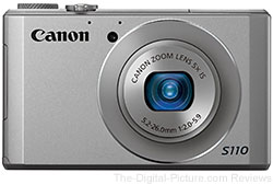 Canon PowerShot S110 Digital Camera (Silver)