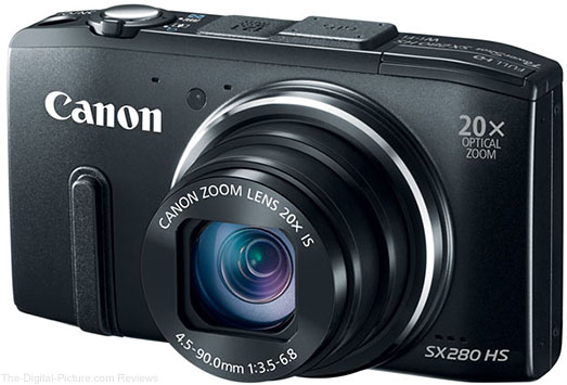 Canon PowerShot SX280 HS Digital Camera - $189.99 Shipped (Compare at $249.00)