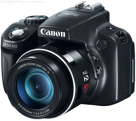 Refurb. PowerShot SX50 HS Digital Camera - $169.99 (Reg. $386.99)