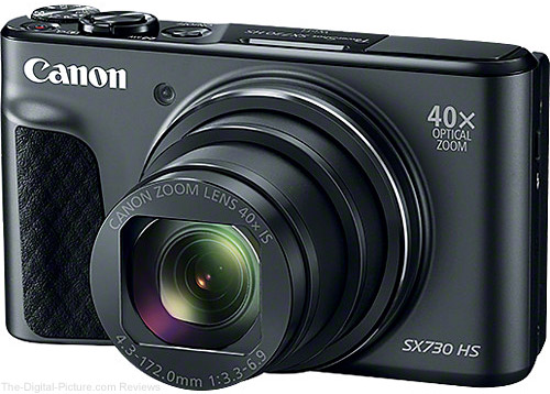 Canon Announces PowerShot SX730 HS Digital Camera