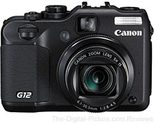 Refurbished Canon PowerShot G12 Digital Camera - $279.99 with Free Shipping (Reg. $349.99)