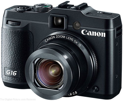 Canon PowerShot G16 Camera - $339.99 Shipped (Compare at $449.00)