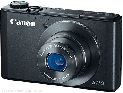 Canon PowerShot S110 Firmware v1.0.2.0 Now Available