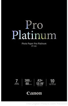 Canon Pro Platinum Photo Paper 13x19