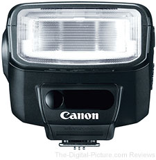 Save Nearly 30% with the Refurbished Canon Speedlite 270EX II