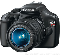 Canon EOS Rebel T3 DSLR Camera with EF-S 18-55mm Lens