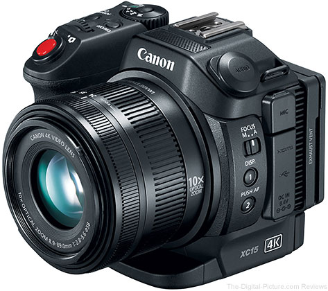 Canon Announces XC15 4K UHD Video Camcorder