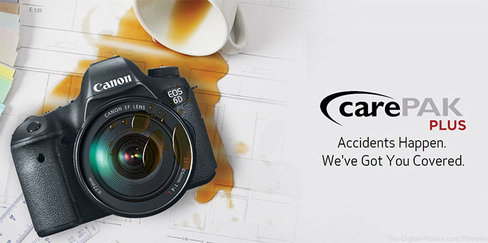 Canon U.S.A. Touts CarePAK PLUS as the Perfect Added Bonus During Gift-Giving Season