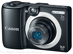 Canon PowerShot A1400 Digital Camera - $69.99 Shipped (Compare at $84.99)