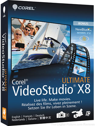 Corel VideoStudio Pro Ultimate X8 (Box) - $24.95 Shipped (Reg. $99.95)