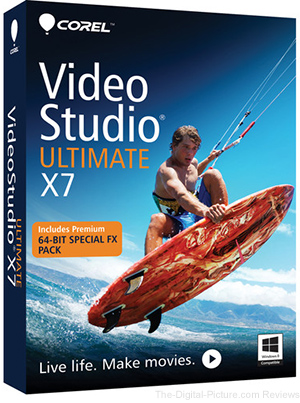 Corel VideoStudio Ultimate X7 Video Editing Software