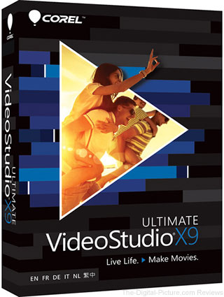 Corel VideoStudio X9 Ultimate (Boxed) - $24.95 Shipped (Reg. $79.95)