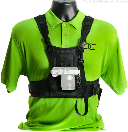 Cotton Carrier Camera Vest for Regular Cameras - $59.00 Shipped (Reg. $99.00)